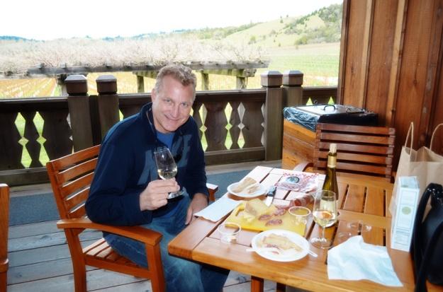 Picnic at Navarro Winery