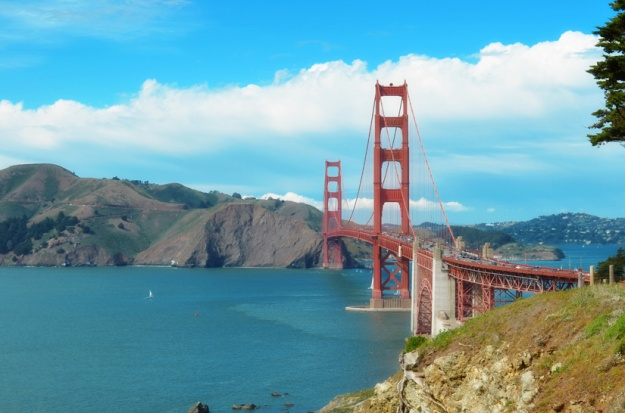 Iconic Golden Gate Bridge
