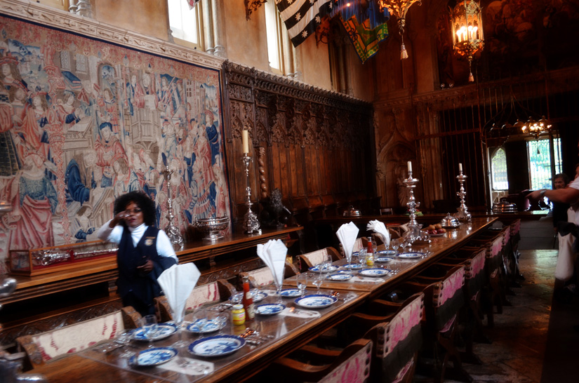 Hearst Castle - large dinners