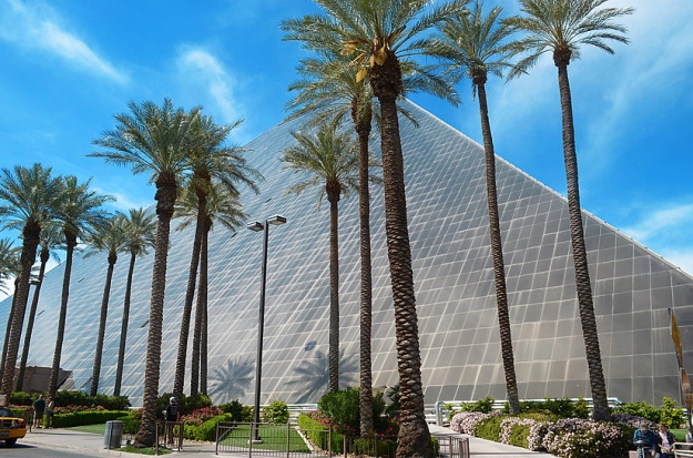 Las Vegas - We stayed at the Luxor