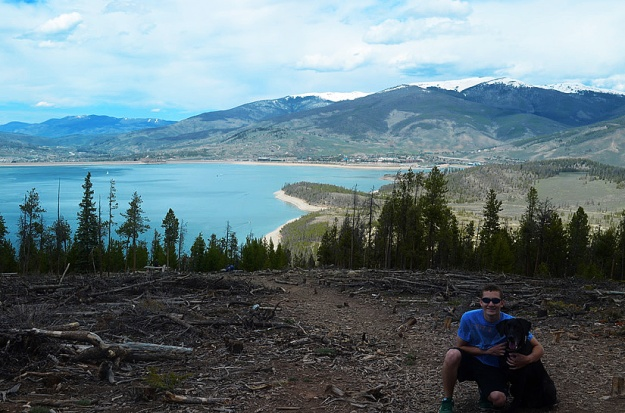 Overlooking Lake Dillon
