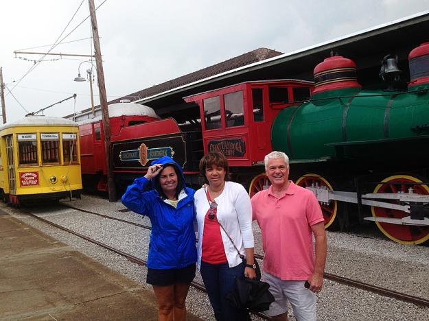 Paula, Lynn and David