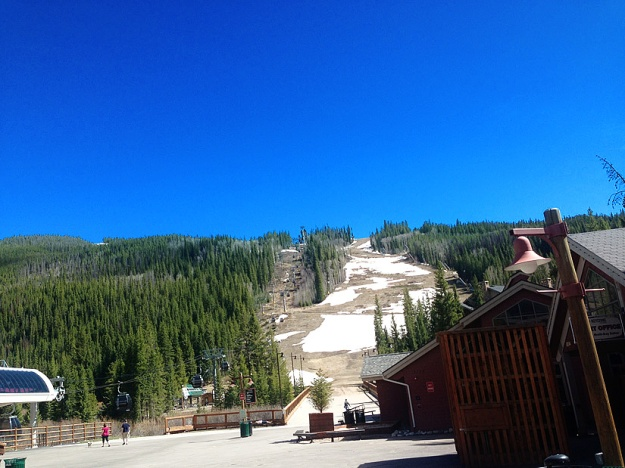 Snow is almost gone - Keystone CO