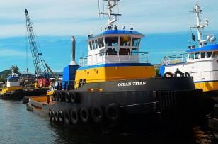 Tug boats in Lake Union