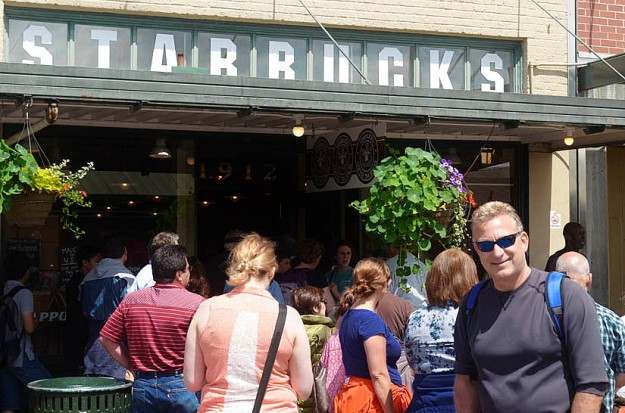First Stabucks Store