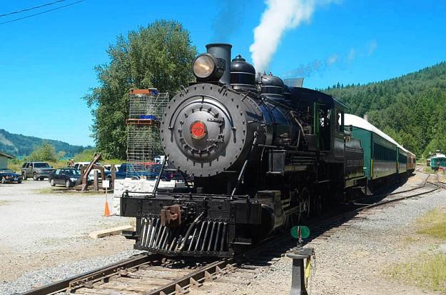 Mount Rainier Scenic Railway