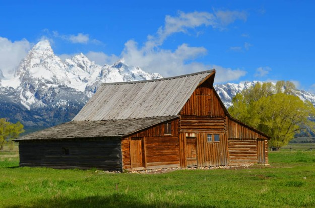 Old Barn in Grand Tetons