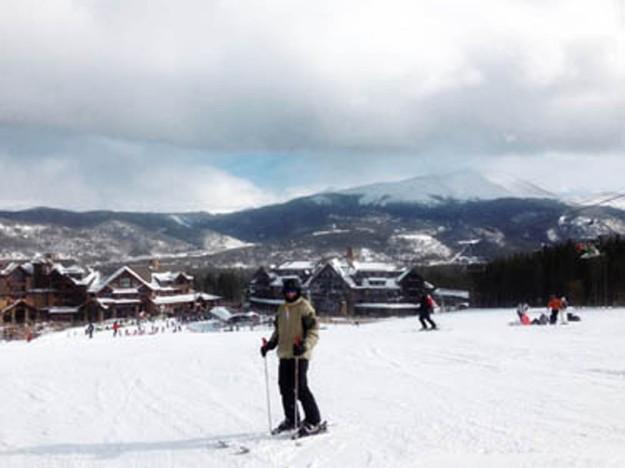 Cameron skiing