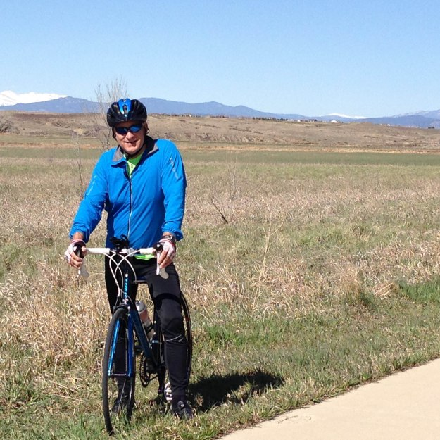 Cycling the Poudre Trail