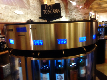 Wine tasting by machine