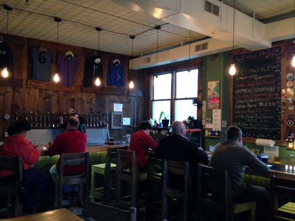 Innovations Brewery in Sylva