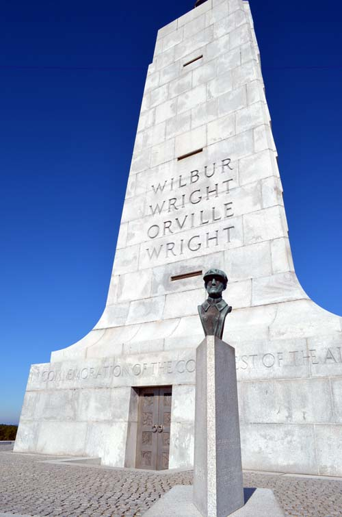 The Wright Brothers Monument