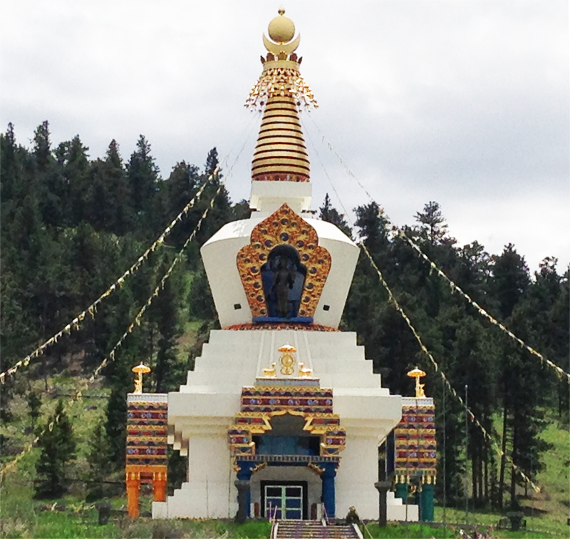 The Great Stupa of Dharmakaya