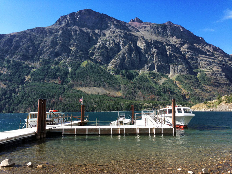 St. Mary Lake Boat Tour