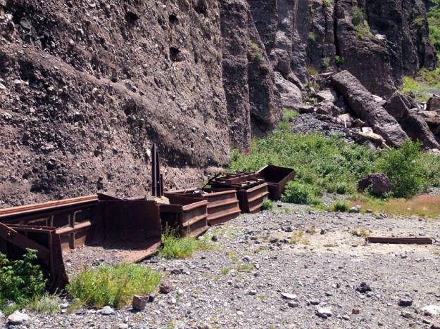 Old Mining Carts
