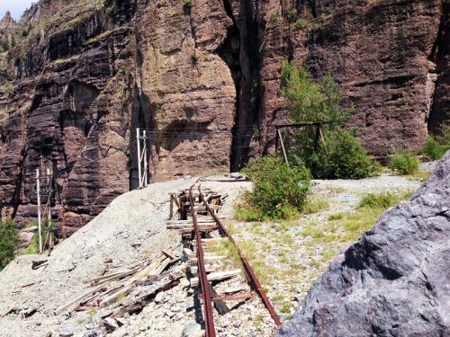 Old mining railway