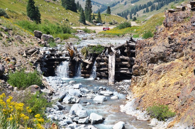 Animas Forks Waterfalls