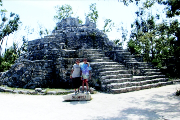XCaret Mexico Ruins