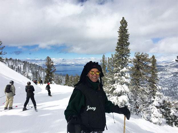 Joey at Lake Tahoe