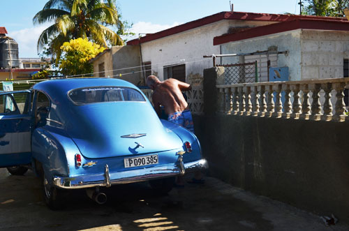 Old American Cars Cuba