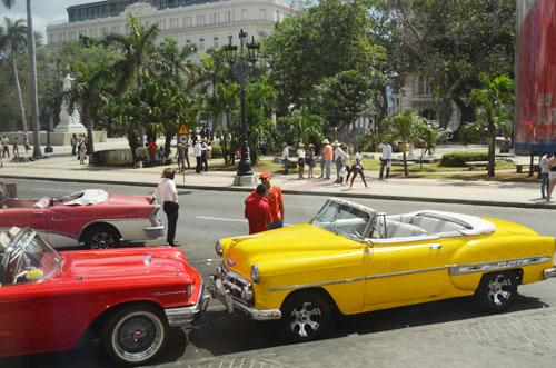 American Cars in Cuba