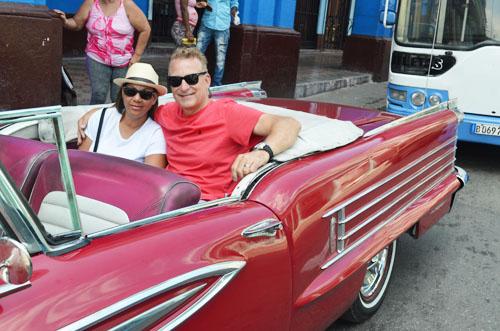 Havana Cuba Old American Car