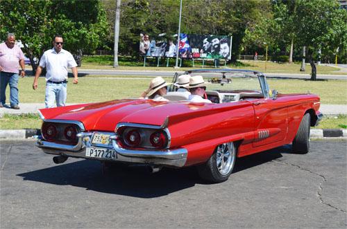 American 1950 Cars in Cuba 3