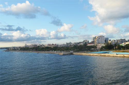 Cuba From Ocean View