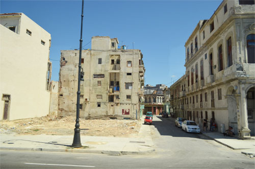 Cuban Neglected Buildings