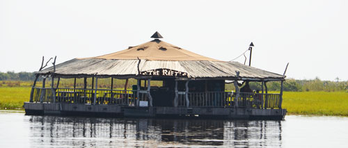 Namibia Floating Bar