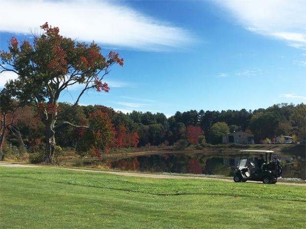 Golfing New England