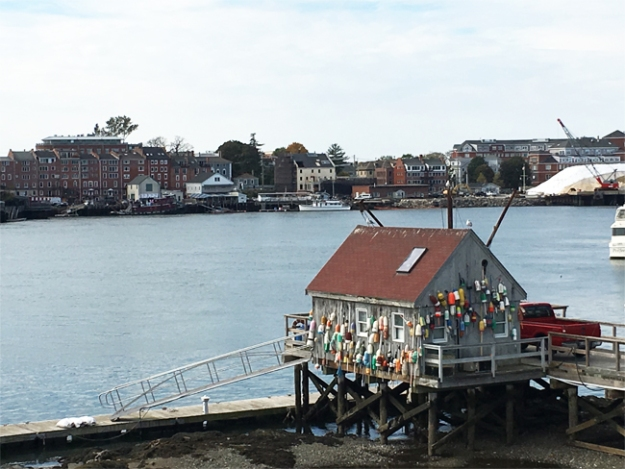 Portsmouth shoreline