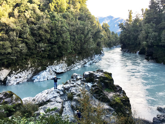 Hokitika Gorge Water