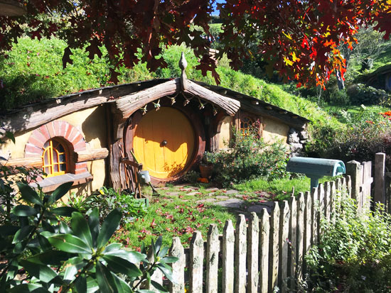 Hobbiton Hobbit Houses
