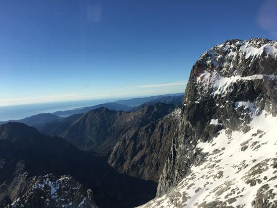 Milford Sound Glacier Mountains