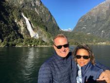 Milford Sound Steve and Lynn