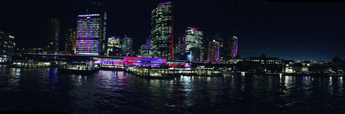 Sydney Skyline Night